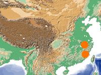 中国の代表的産地